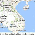 Danh sách các đơn vị hành chính cấp huyện của Việt Nam