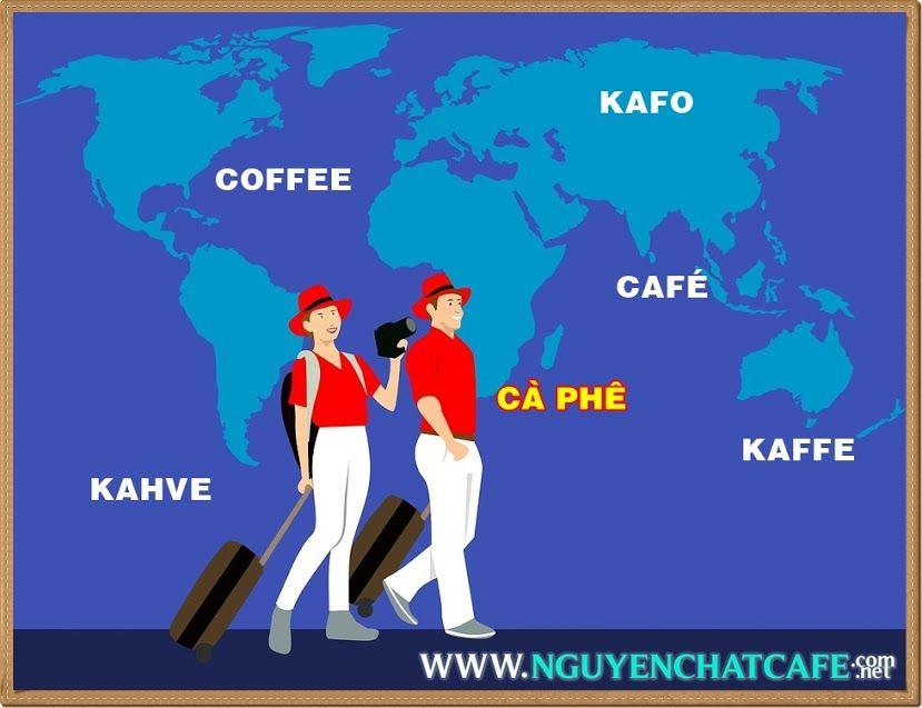 Cà phê - coffee qua các ngôn ngữ của các nước trên thế giới