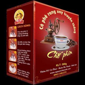 Cà phê bột pha phin truyền thống – Hộp 500g