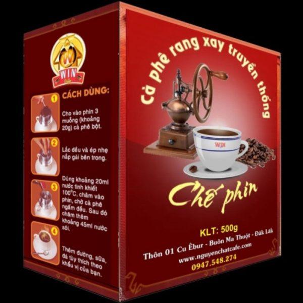 Cà phê bột pha phin truyền thống - Hộp 500g