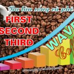 Ba làn sóng cà phê – First, Second, Third Wave of coffee