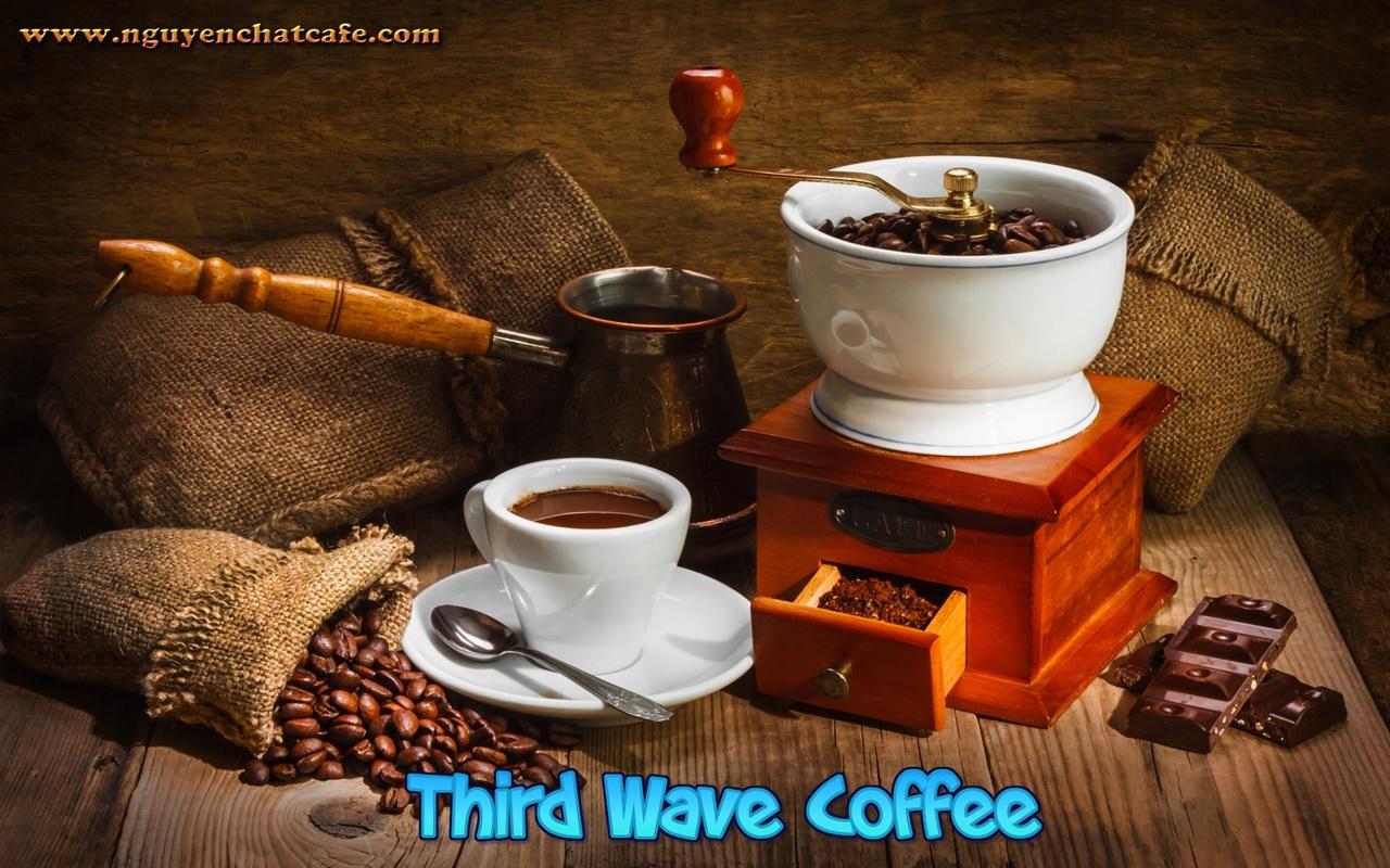 """Làn sóng cà phê thứ ba - """"Third Wave off Coffee"""""""