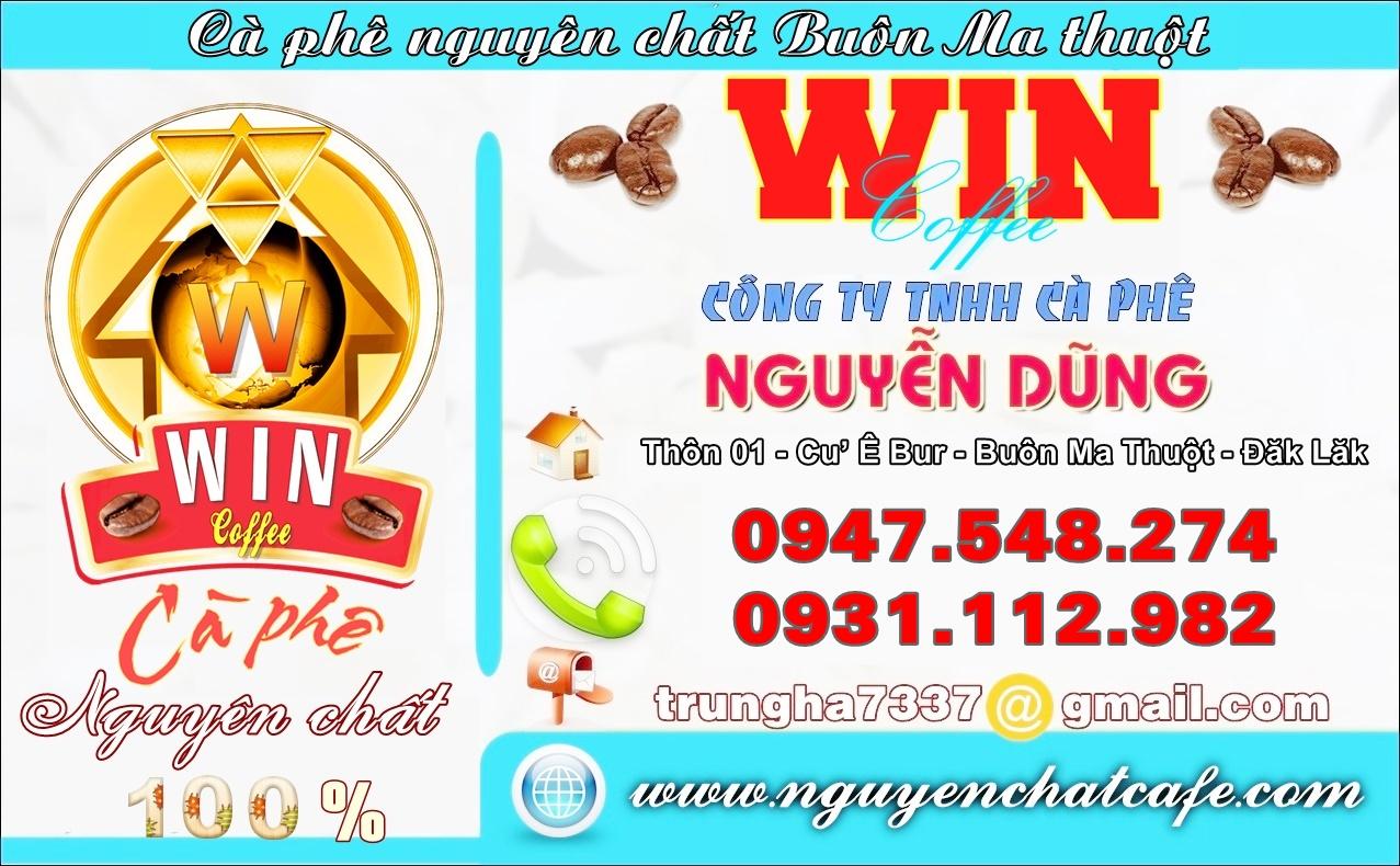 Cà phê Nguyễn Dũng - Win coffee - nguyenchatcafe