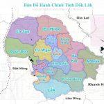 Các đơn vị hành chính của tỉnh Đăk Lăk | cấp huyện, xã