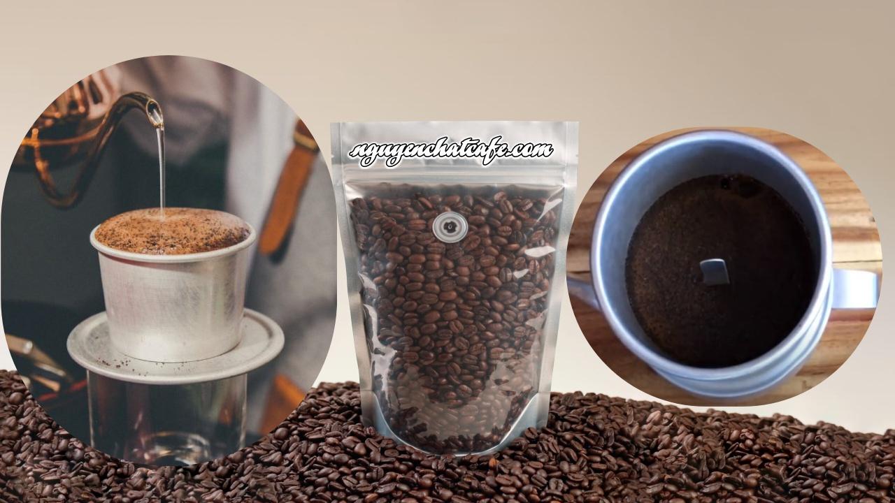 Phân biệt độ nở của cà phê.